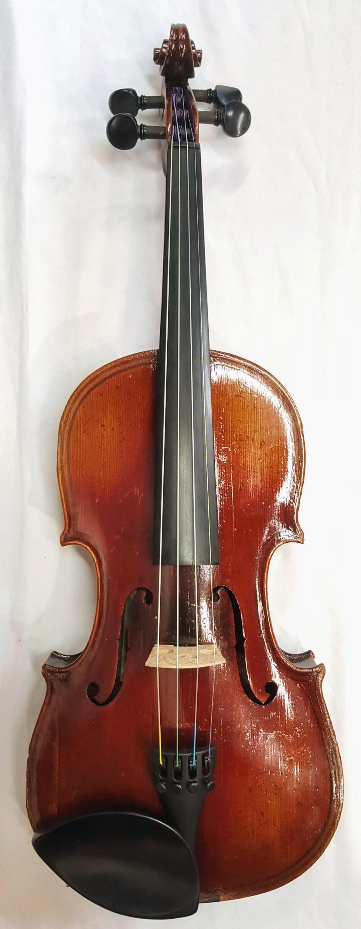 ...(ARCHIVED)... Antique Violin. Germany 'PAULO MAGGINI' circa 1910