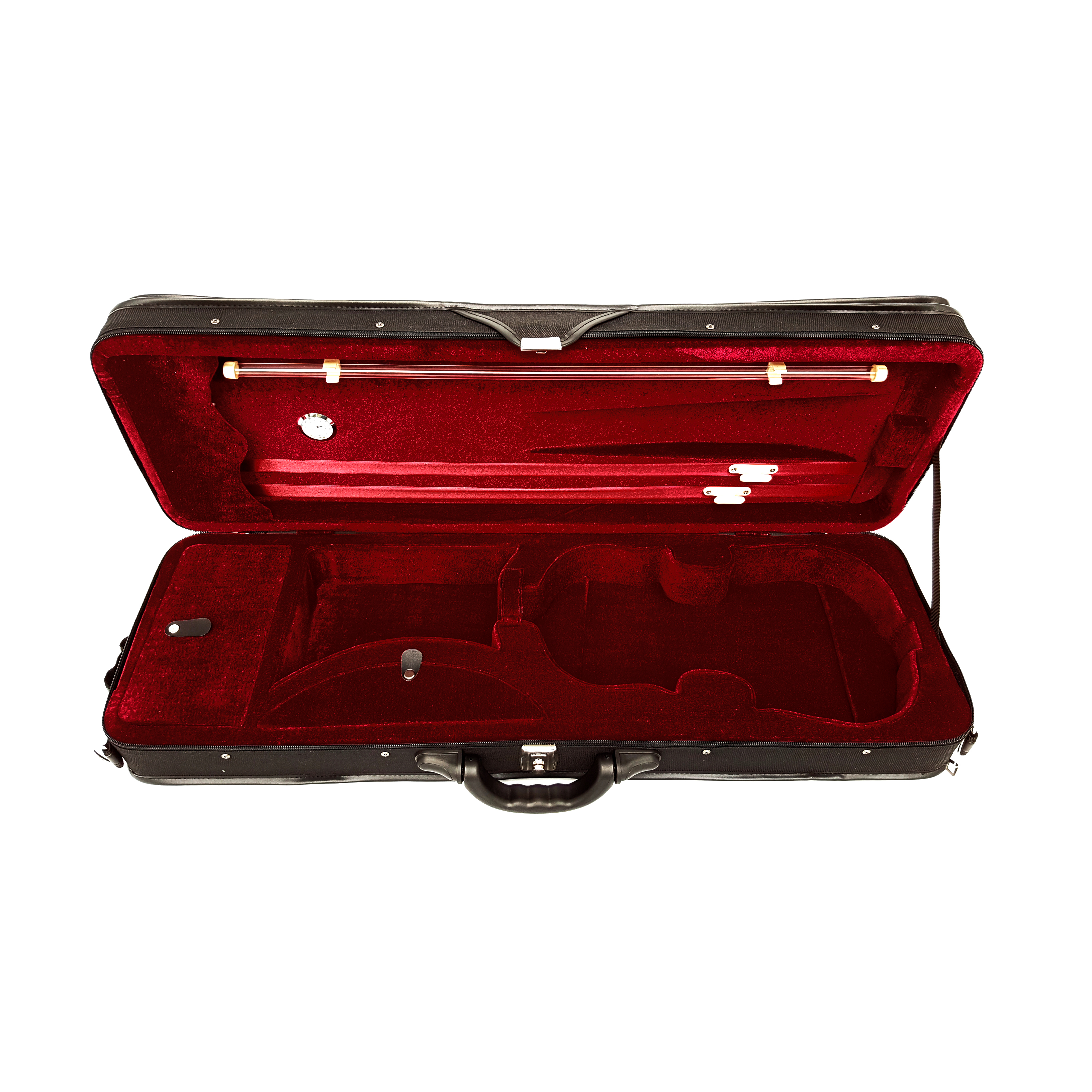 ENDEAVOUR oblong intermediate violin case - Wine