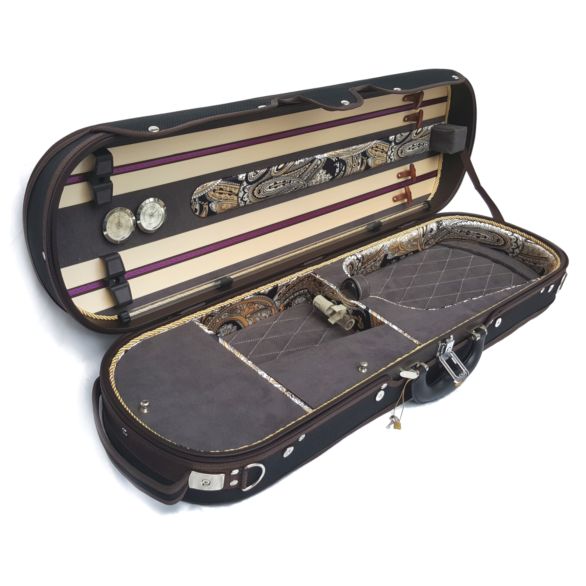 ENDEAVOUR oblong 'advanced' wooden violin case